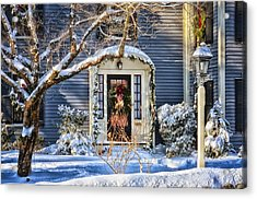 Welcome Home Acrylic Print by Tricia Marchlik