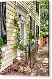 Welcome Acrylic Print by Jean Goodwin Brooks