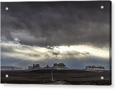 Welcome Acrylic Print by Mike Herdering