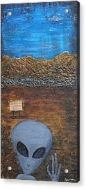 Welcome To Area 51 Acrylic Print by Jeffrey Oldham
