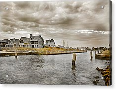 Welcome To Bald Head Island Acrylic Print by Betsy Knapp