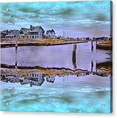 Welcome To Bald Head Island II Acrylic Print by Betsy Knapp
