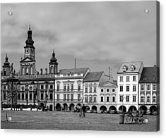 Welcome To Ceske Budejovice - Budweis Czech Republic Acrylic Print