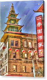 Welcome To Chinatown Acrylic Print by Juli Scalzi