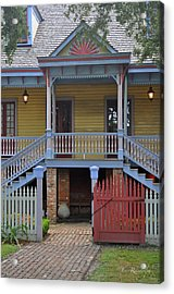 Welcome To Laura Acrylic Print by Cheri Randolph