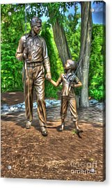 Welcome To Mayberry Acrylic Print by Dan Stone
