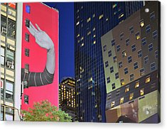 Welcome To New York Acrylic Print