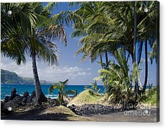 Welcome To Paradise Acrylic Print by Sharon Mau
