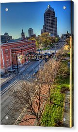 Welcome To Rochester Acrylic Print by Tim Buisman