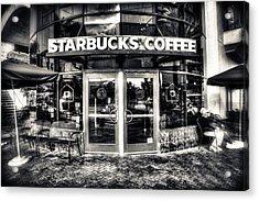 Welcome To Starbucks Acrylic Print