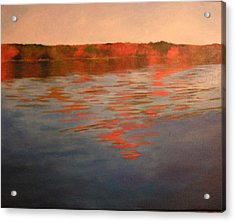Welcome To The Lake Acrylic Print