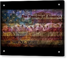 Welcome To The New America Acrylic Print