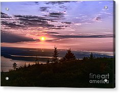 Welcoming A New Day Acrylic Print by Arnie Goldstein