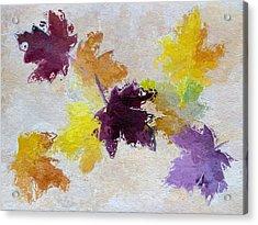Welcoming Autumn Acrylic Print by Heidi Smith