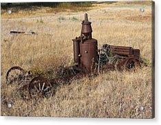 Welding Gas Generator Acrylic Print