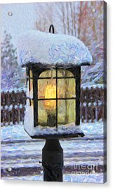We'll Leave The Light On For You Acrylic Print by Jon Burch Photography