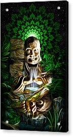 Well Of The Heart Acrylic Print by Jalai Lama