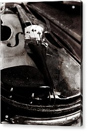 Acrylic Print featuring the photograph Well Used Instrument by Scott Kingery