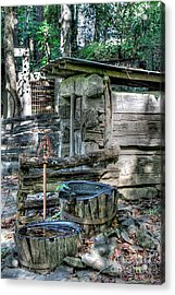 Well Water Acrylic Print by Robert Pearson
