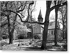 Wellesley College Houghton Chapel Acrylic Print by University Icons