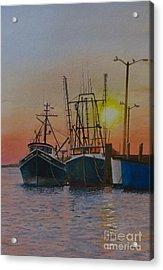 Wellfleet Dusk Acrylic Print by Karol Wyckoff