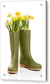 Wellington Boots Acrylic Print