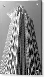 Wells Fargo Center In Minneapolis Acrylic Print by Jim Hughes