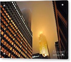 Wells Fargo Center - Minnesota Acrylic Print by Graham Taylor