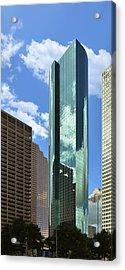 Wells Fargo Plaza Houston Tx Acrylic Print