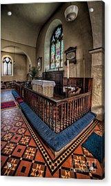 Welsh Chapel Acrylic Print by Adrian Evans