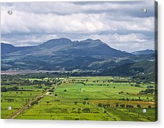 Welsh Country Scene Acrylic Print by Jane McIlroy
