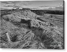 Acrylic Print featuring the photograph Welsh Downs  by Gary Bridger