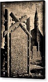 Welsh Graveyard Acrylic Print