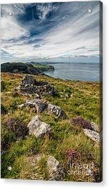 Welsh Peninsula Acrylic Print by Adrian Evans