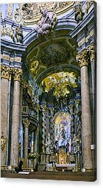 Weltenburg Abbey  II Acrylic Print by Robert Culver