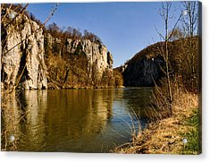 Weltenburg Narrows Acrylic Print
