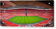 Wembely Stadium Acrylic Print