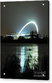 Wembley London Acrylic Print