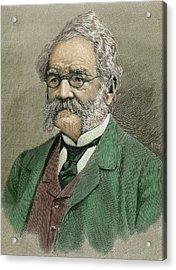 Werner Von Siemens (lenthe Acrylic Print by Prisma Archivo