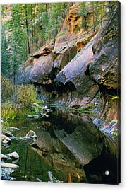 West Branch Oak Creek Acrylic Print by Joshua House