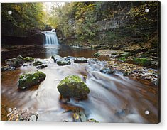 West Burton Falls Acrylic Print