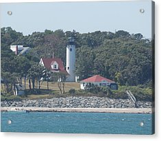 West Chop Lighthouse Acrylic Print by Catherine Gagne