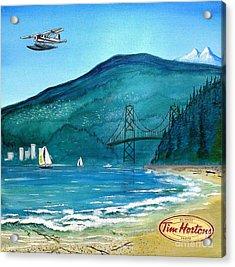 West Coast Dream Acrylic Print by John Lyes