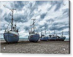 West Coast Fishing Boats. Acrylic Print