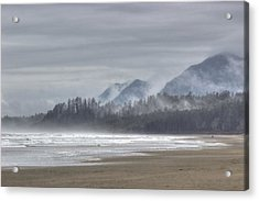 West Coast Mist Acrylic Print