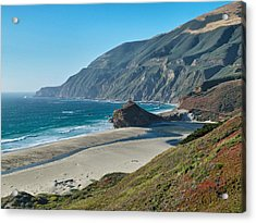 West Coast Serenity Acrylic Print by Rob Wilson