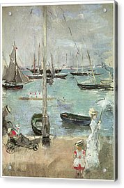 West Cowes Isle Of Wight Acrylic Print by Berthe Morisot