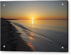 West Dennis Beach Acrylic Print