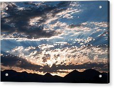 West Elk Mountains Morning Acrylic Print by Eric Rundle
