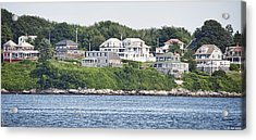 Acrylic Print featuring the photograph West End Long Island Maine by Richard Bean